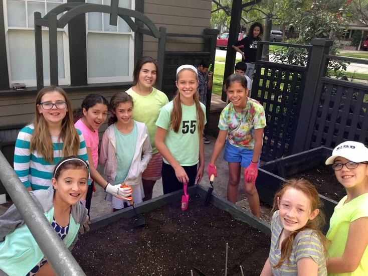 5th grade Garden