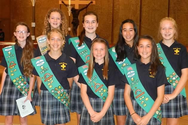 two-teen-girl-scout-tops-run