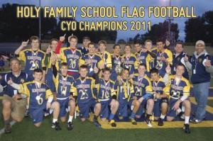 Football CYO Champs 2011