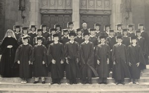 Holy Family School Graduates in 1950