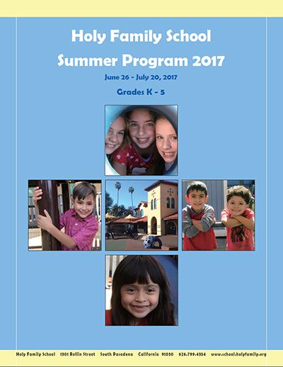 Summer School Brochure page 1small
