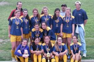 girls' soccer team
